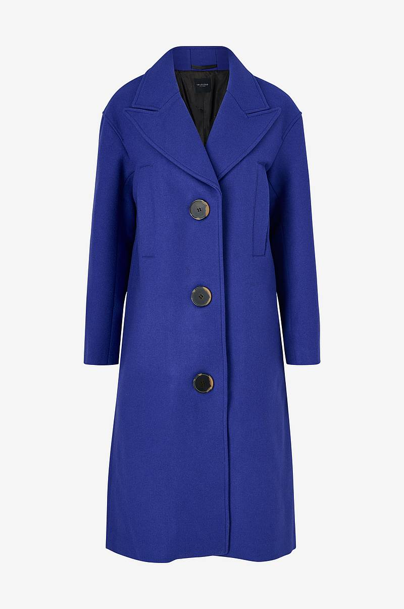 Kåpe slfOda Wool Coat
