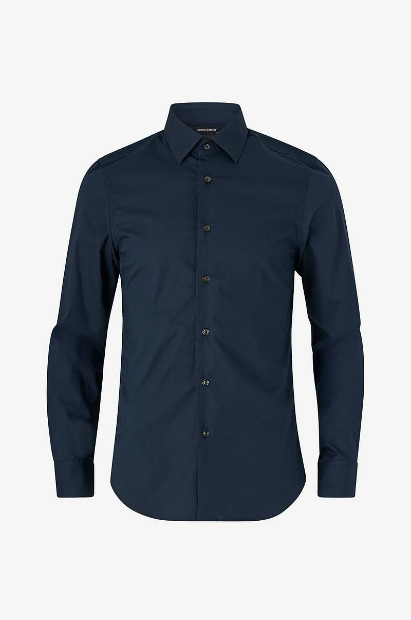 Skjorta Core Super Slim Shirt L/S