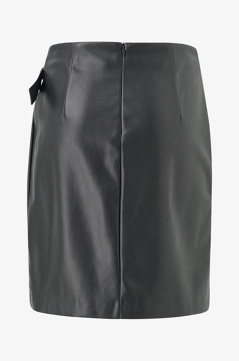Kietaisuhame onlEve Faux Leather Pencil Wrapskirt