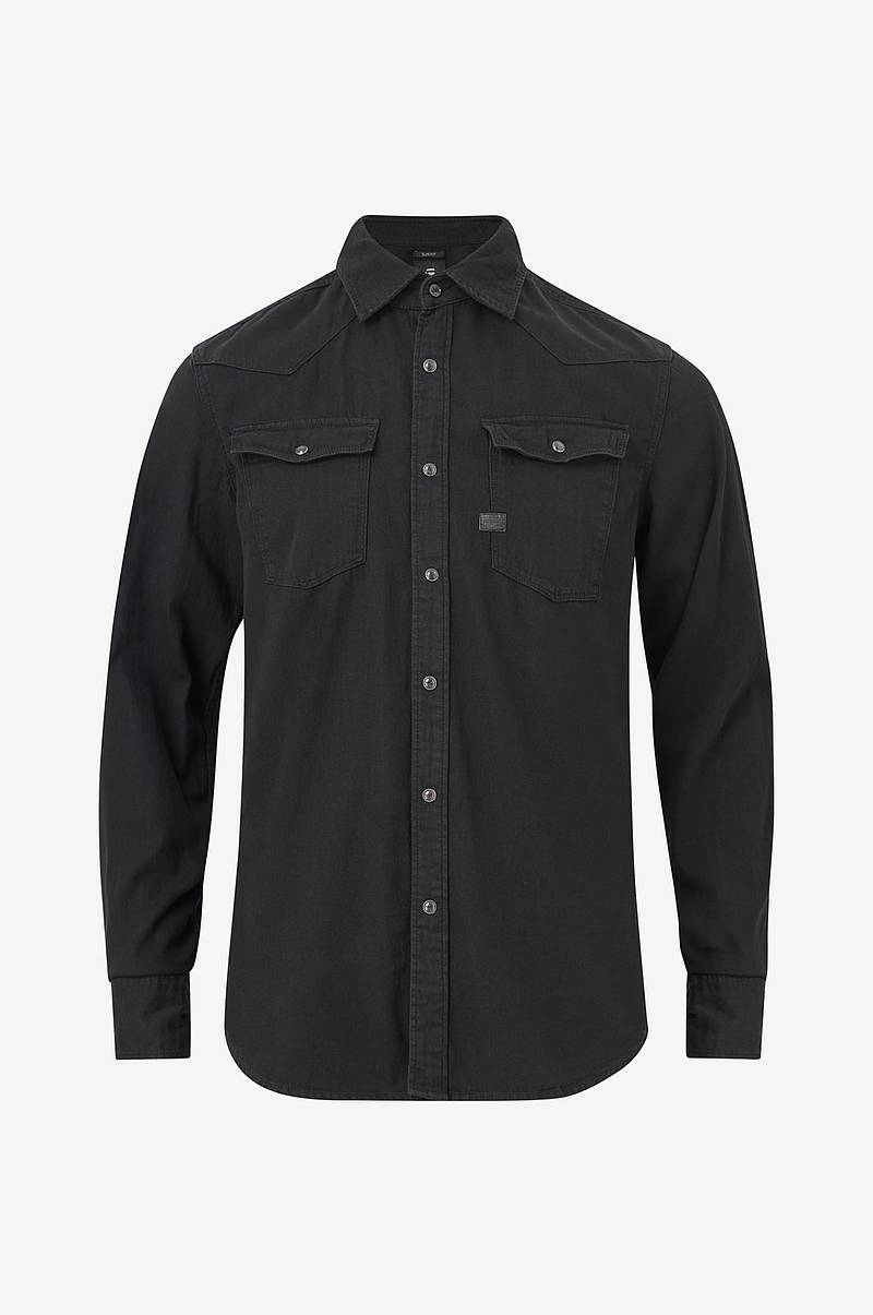 Denimskjorte 3301 Slim Shirt L/S