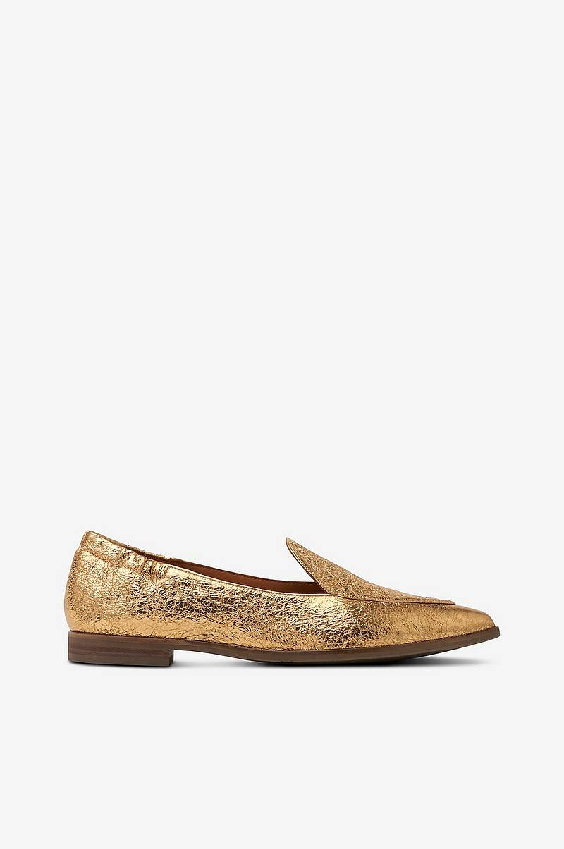Loafers gullfarget