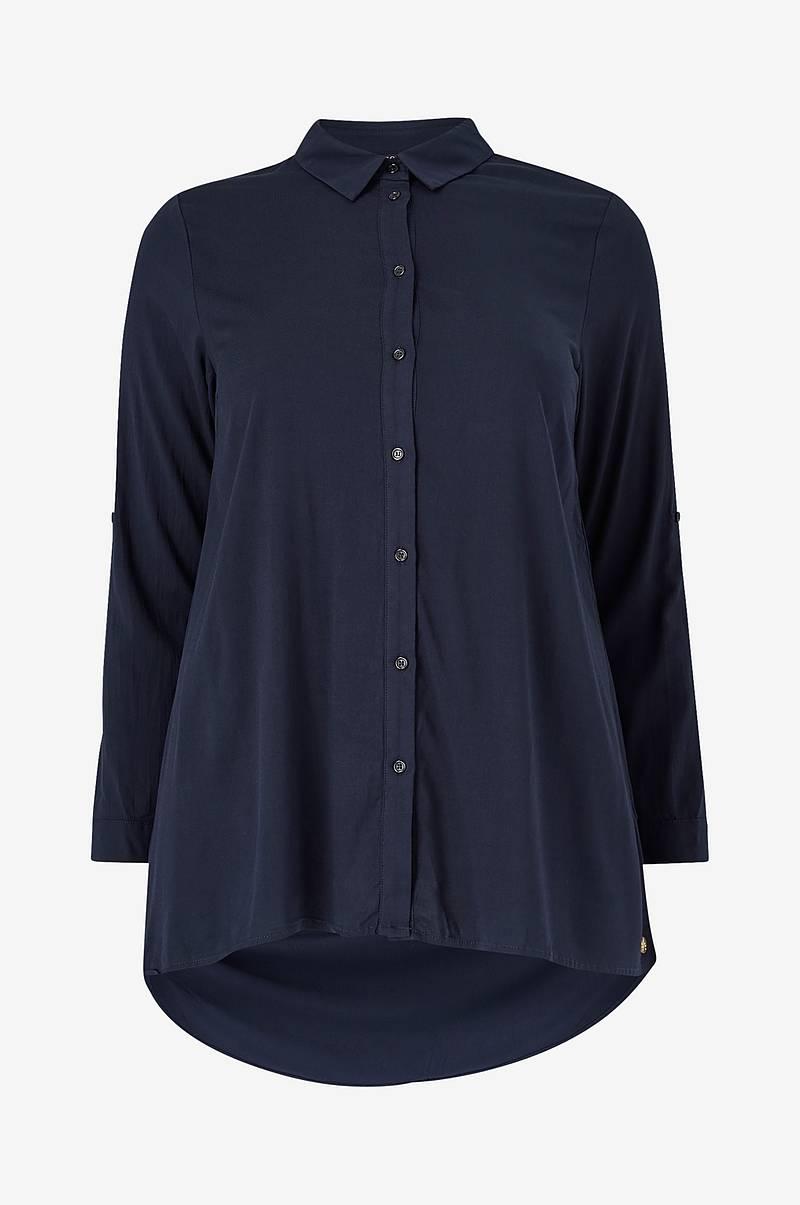 ICHI Skjorte ixAgnes LS Svart Skjorter Ellos.no