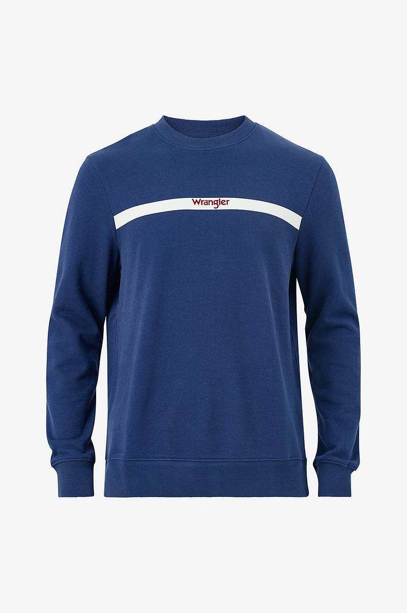 Collegepusero Stripe Logo Sweat