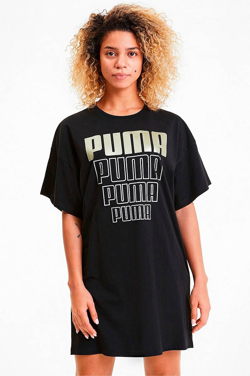 Klänning Rebel Light Weight Tee Dress