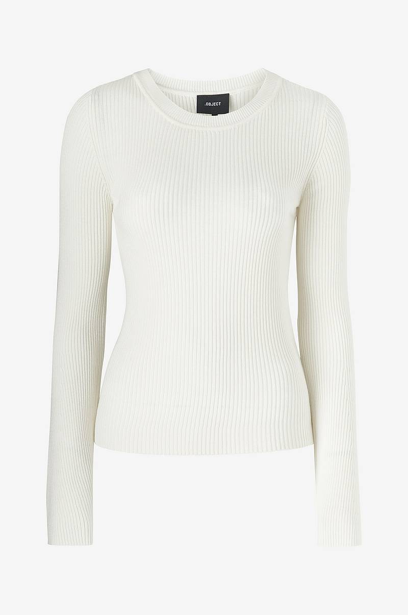Topp objPauli L/S Flared Knit Top