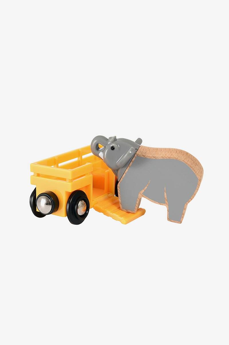 33969 Elephant and Wagon