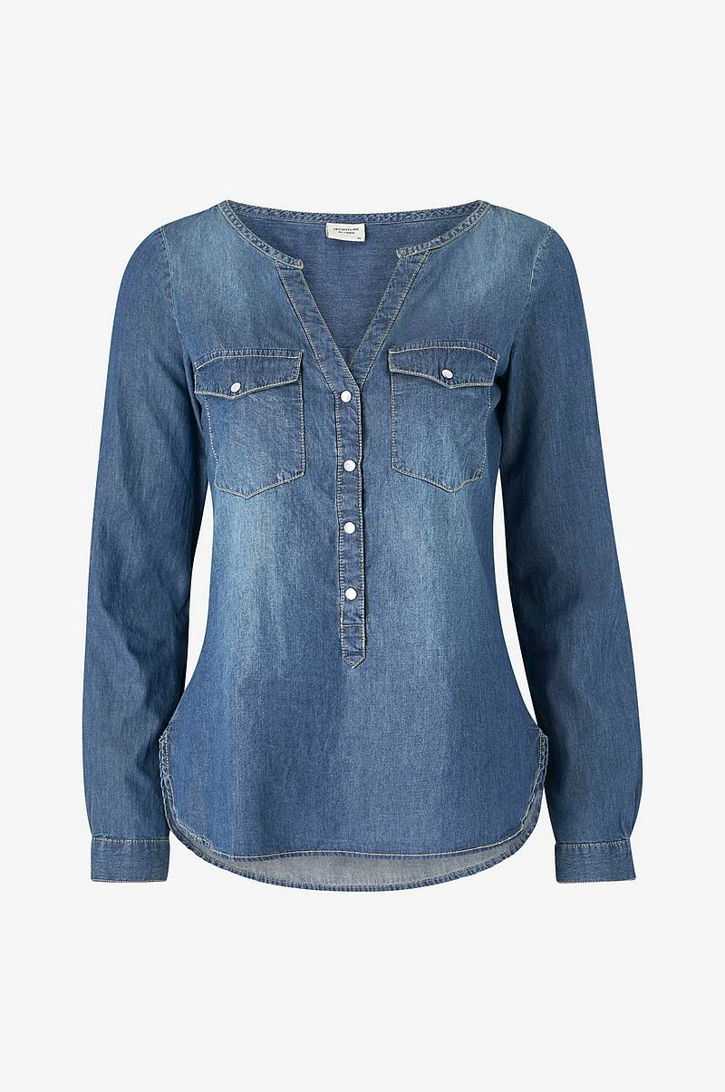 Jeansskjorta jdyWyre L/S Placket Denim Shirt