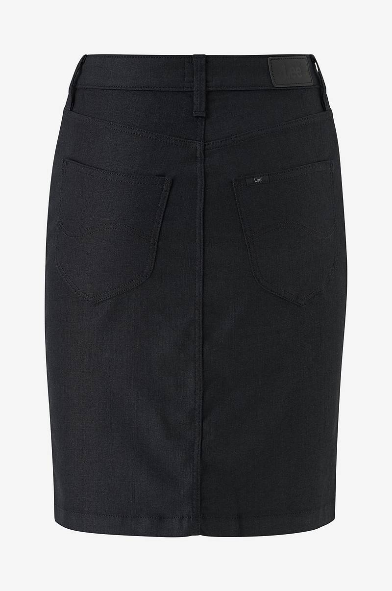 Hame High Waist Zip Skirt