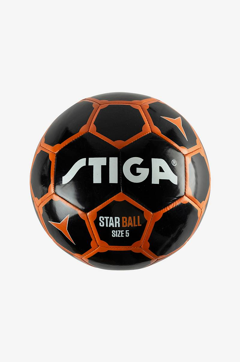 Fotboll Star Ball 5 Black/Orange
