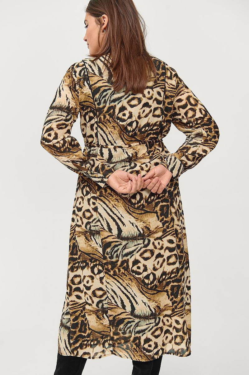 Mekko mPovla L/S Long Dress