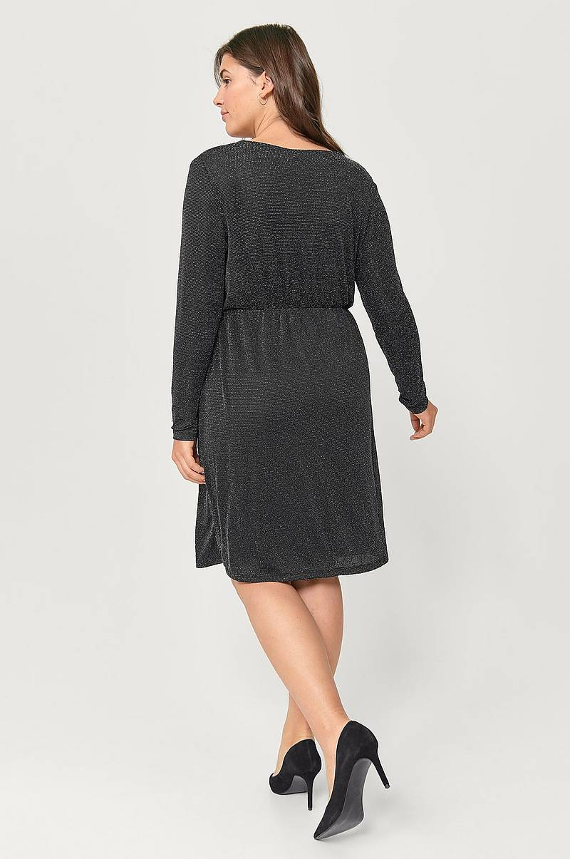 Omslagskjole mNatasia L/S Dress
