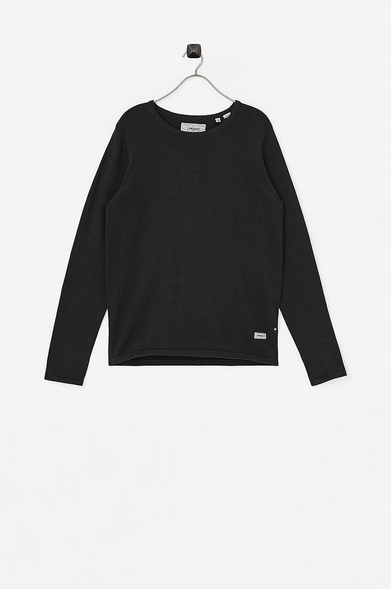 Genser Basic Crew Neck Knit