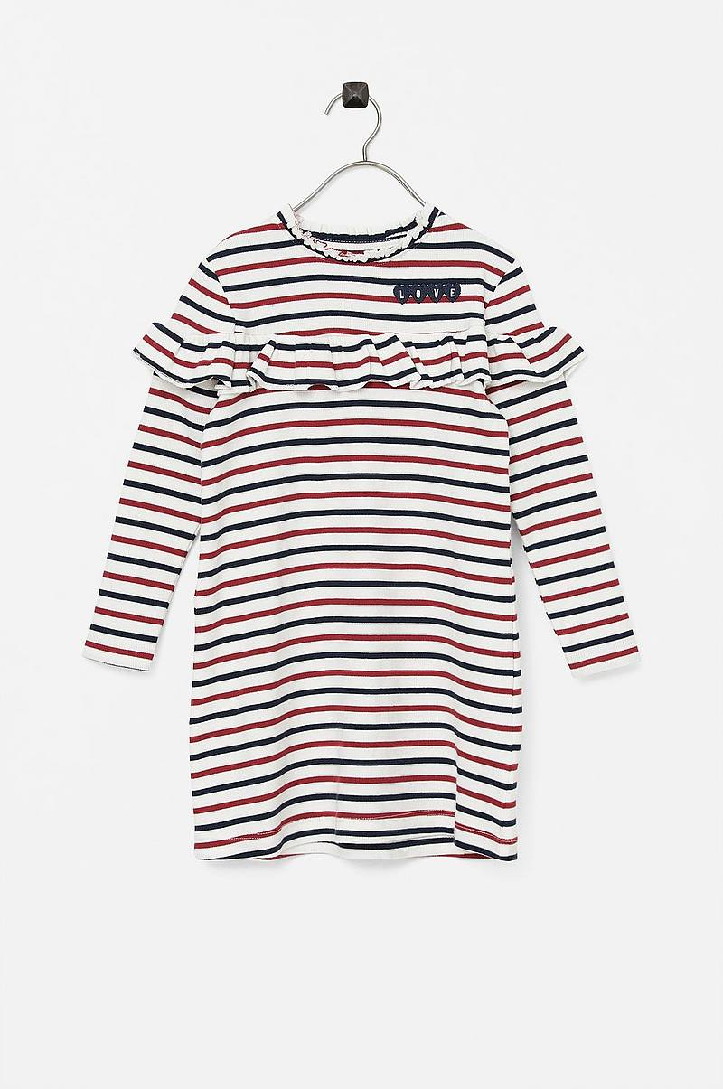 Kjole nmfOstripe LS Dress