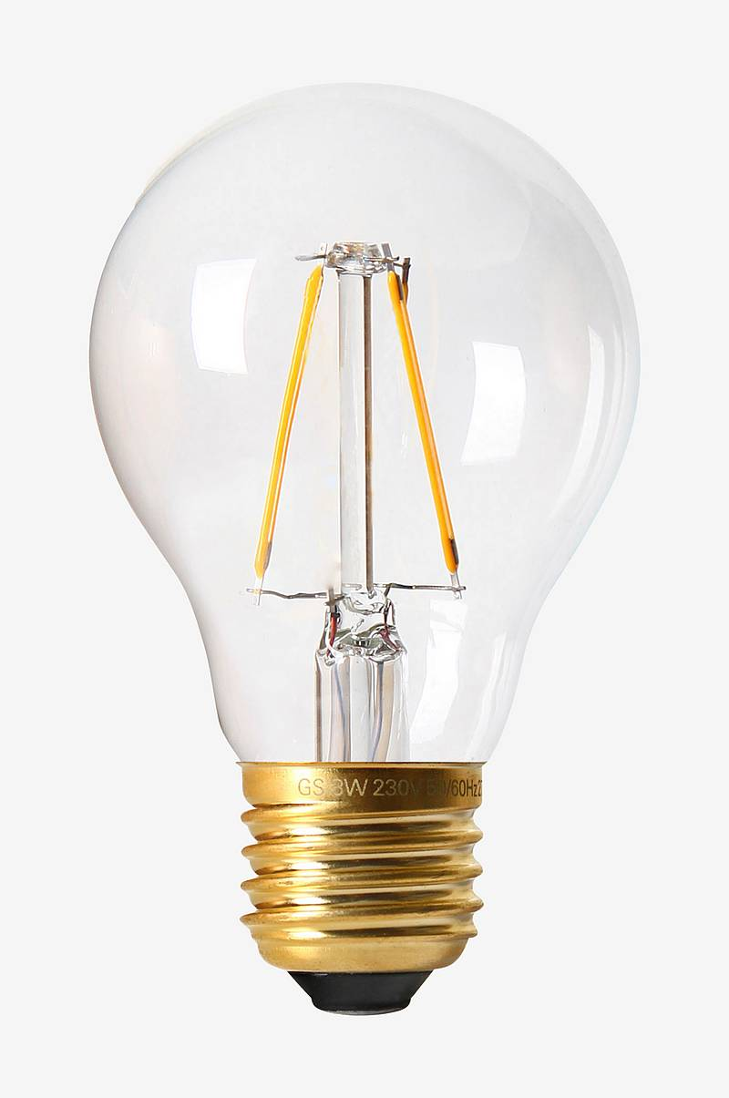 Pære Vintage LED Filament Normal Clear, 60 mm