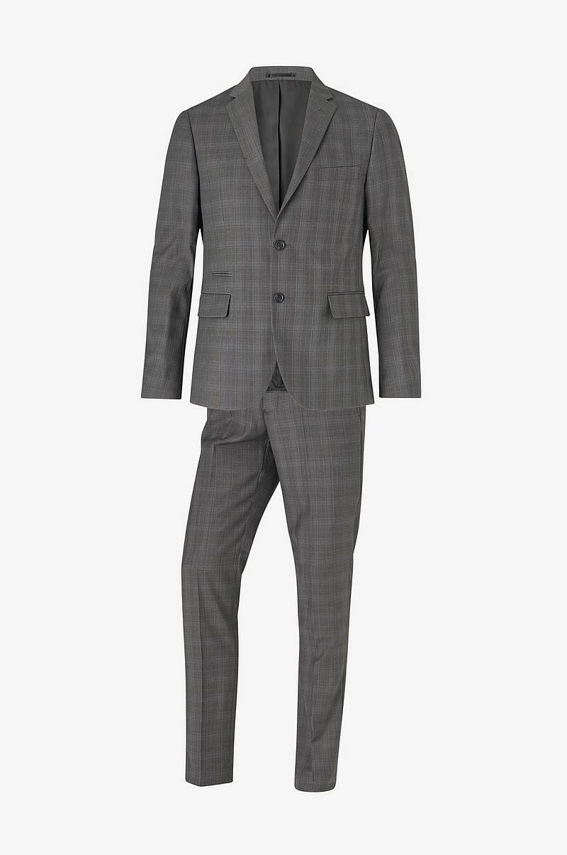 Dress Checked Men's Suit