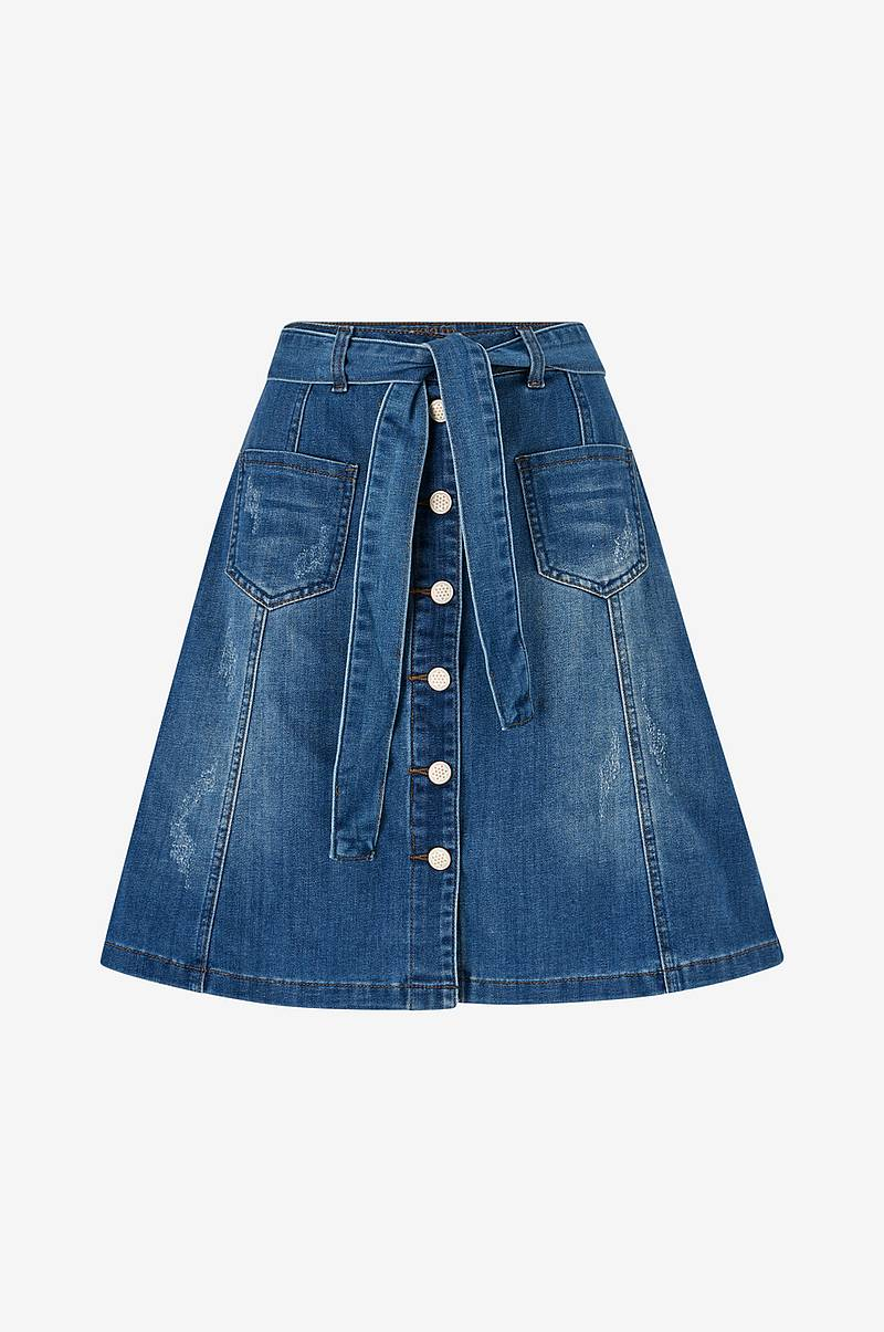 Farkkuhame AlmaCR Denim Skirt