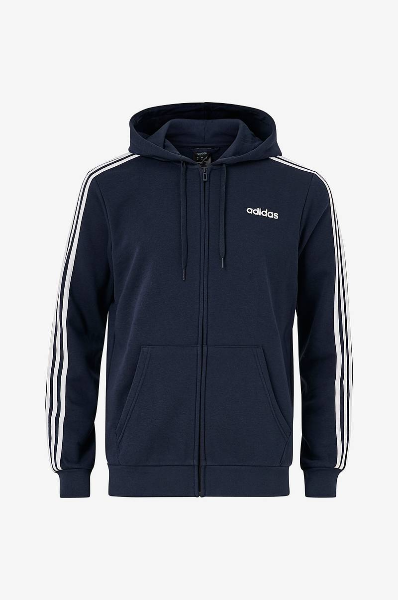Hættetrøje Essentials 3-stripes Fleece Hoodie