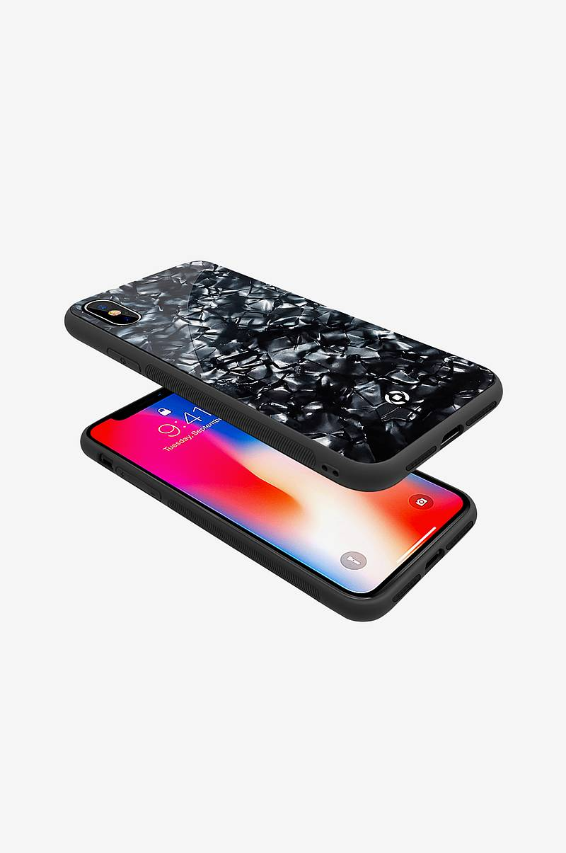 Pearl cover iPhone X Svart
