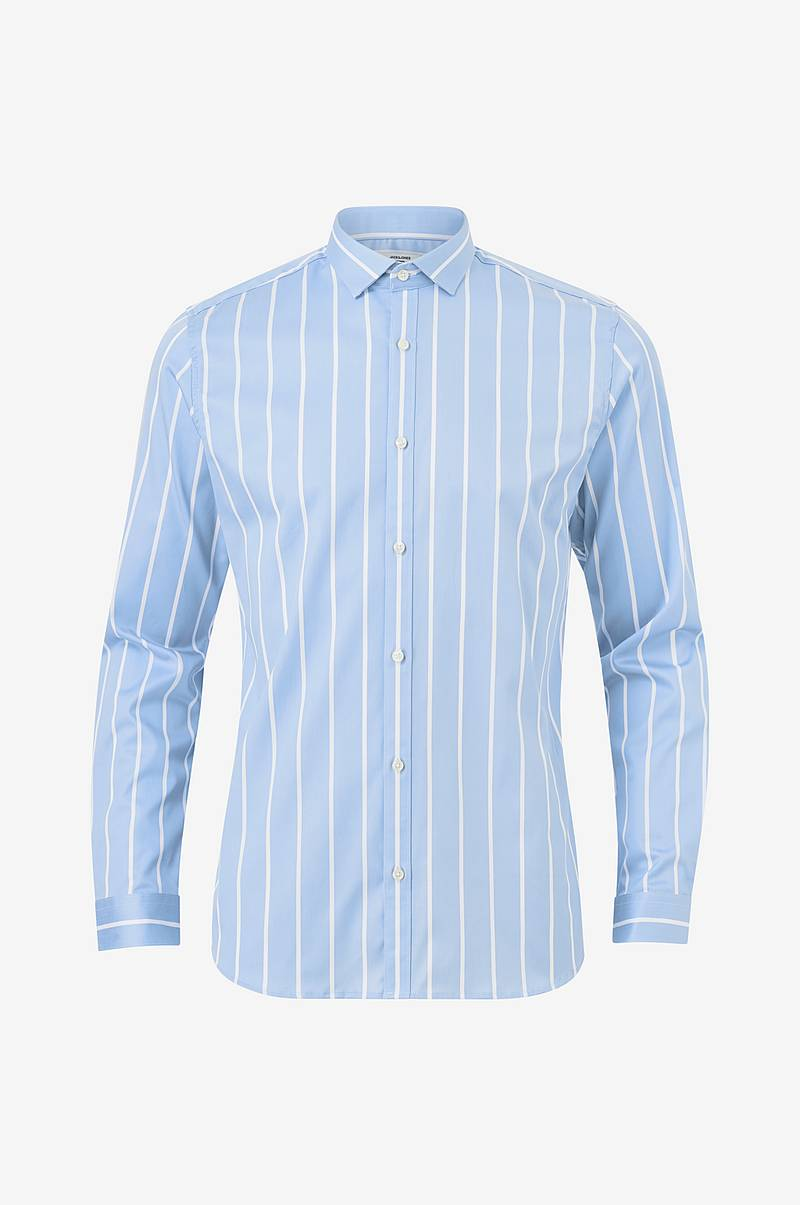 Skjorte jprParma Stripe Shirt L/S, slim fit
