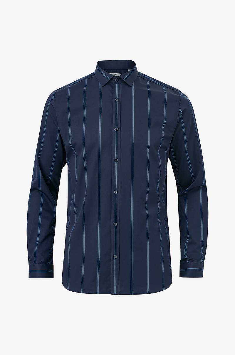 Skjorta jprParma Stripe Shirt L/S, slim fit