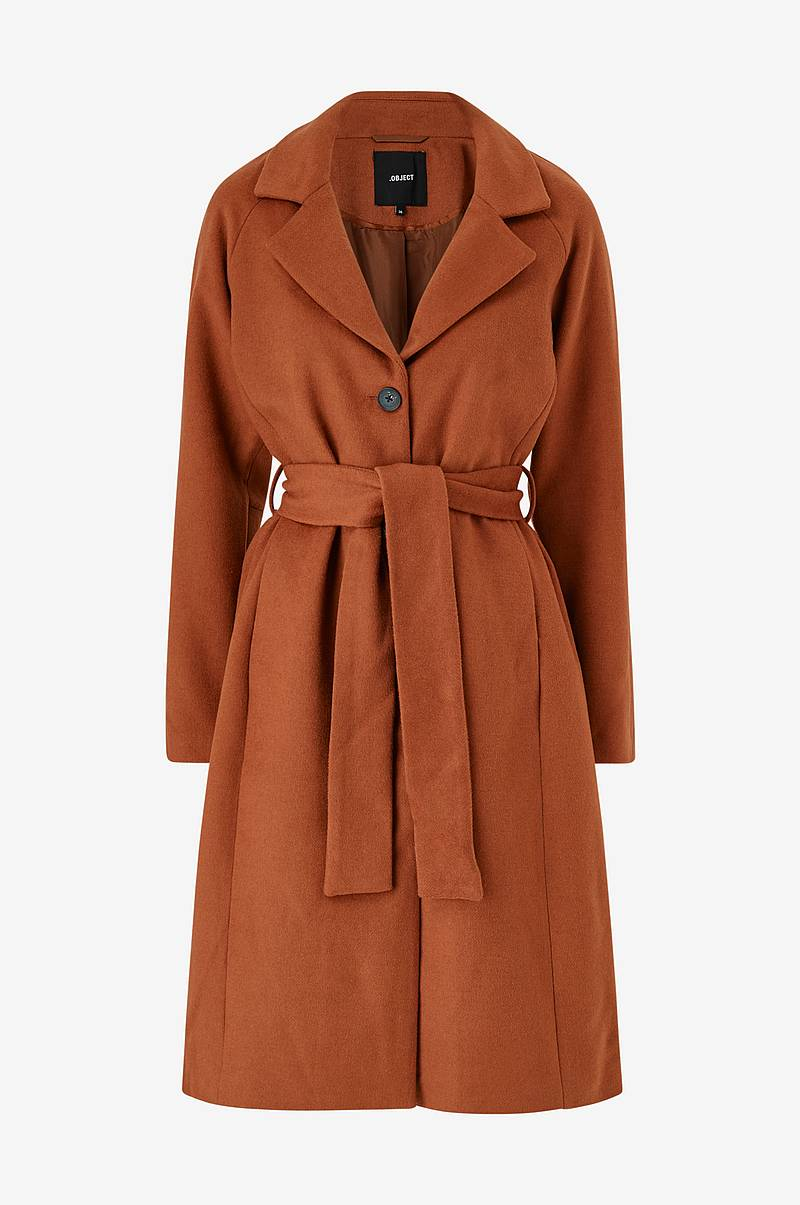Kåpe objLena Coat Seasonal