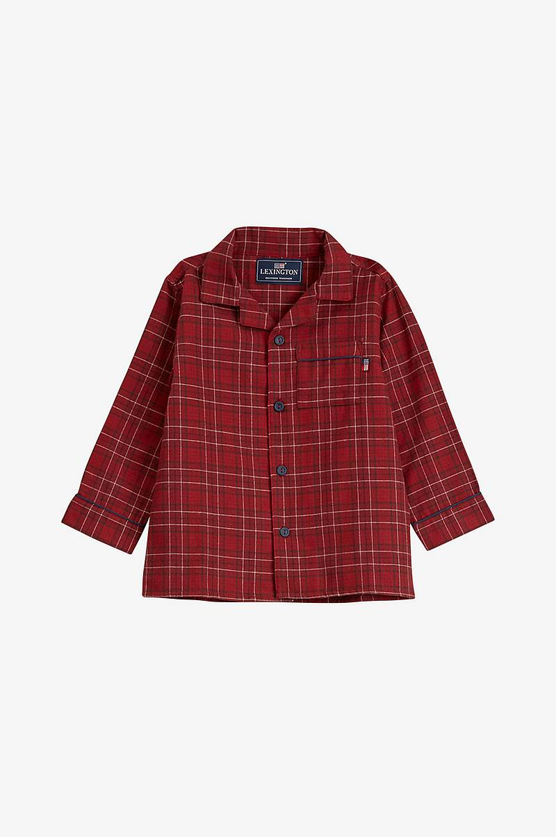 Pyjamas Kids Checked Flannel