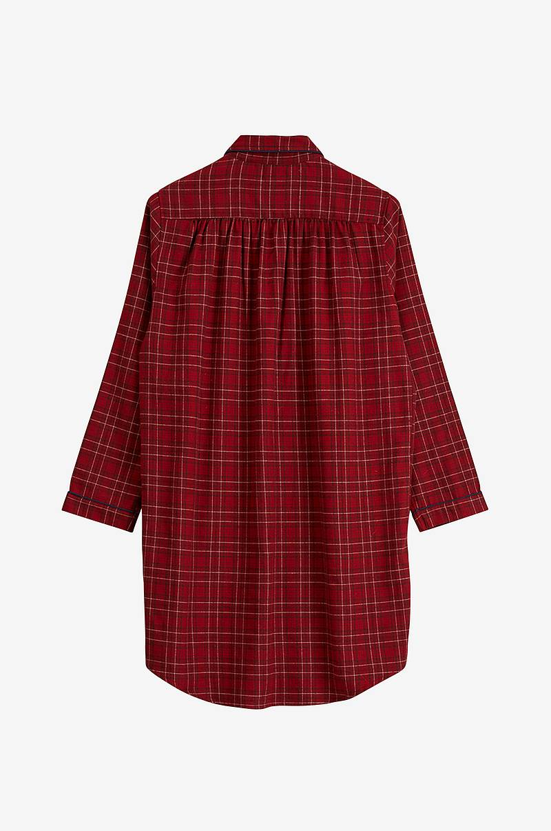 Nattkjole Womens Checked Flannel