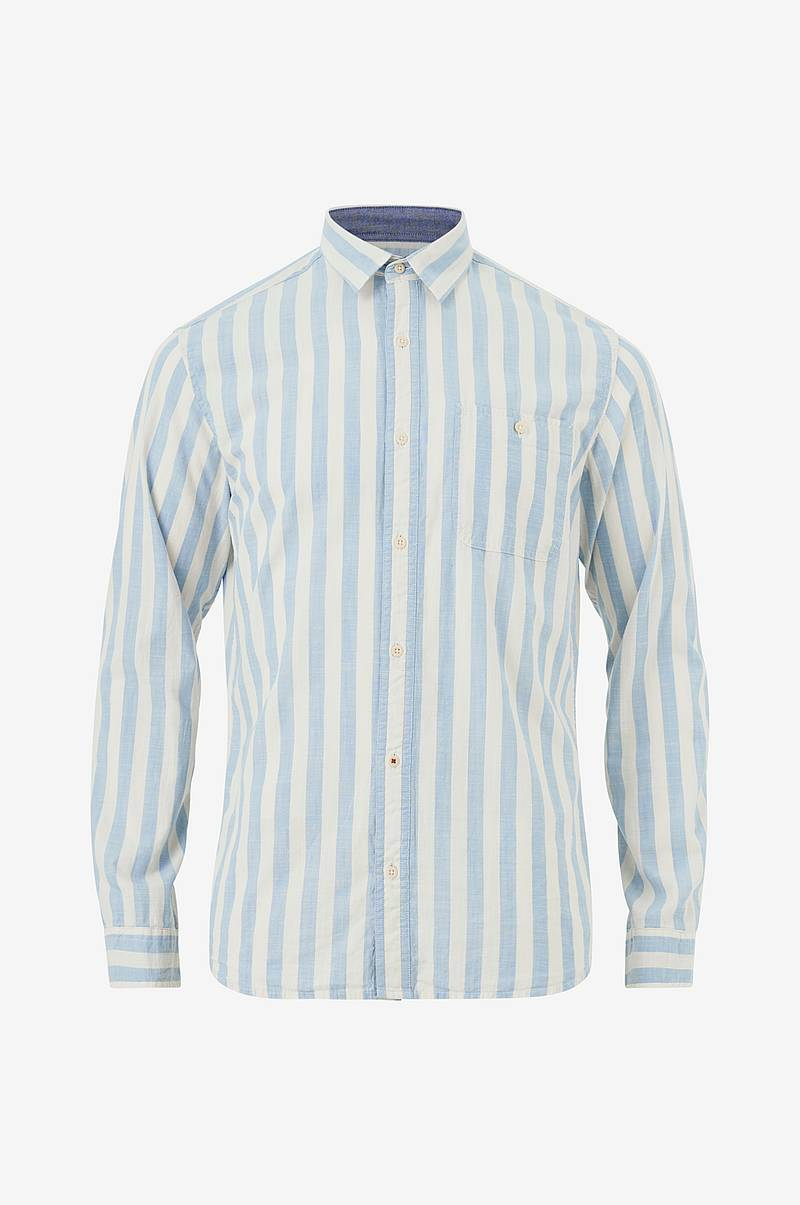 Kauluspaita jprMax Stripe Shirt L/S One Pocket