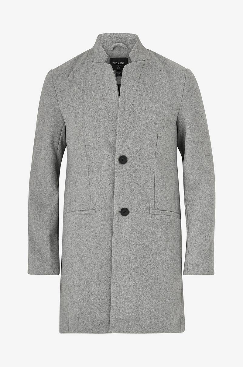 Rock onsMaximilian Wool Trench Coat