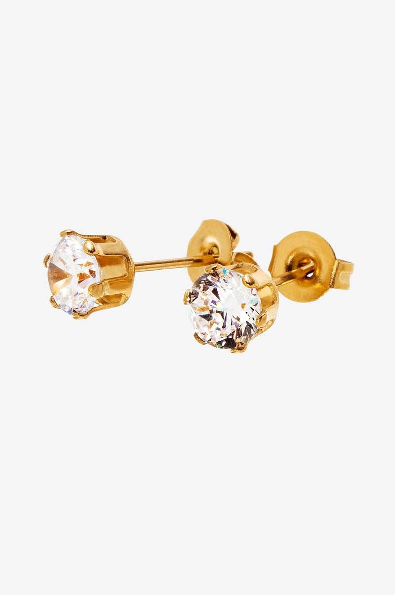 Örhängen Crown Studs Gold