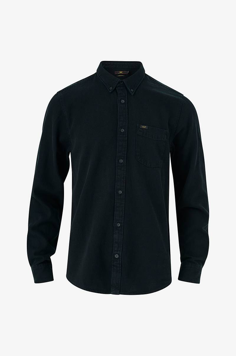 Jeansskjorte Button Down