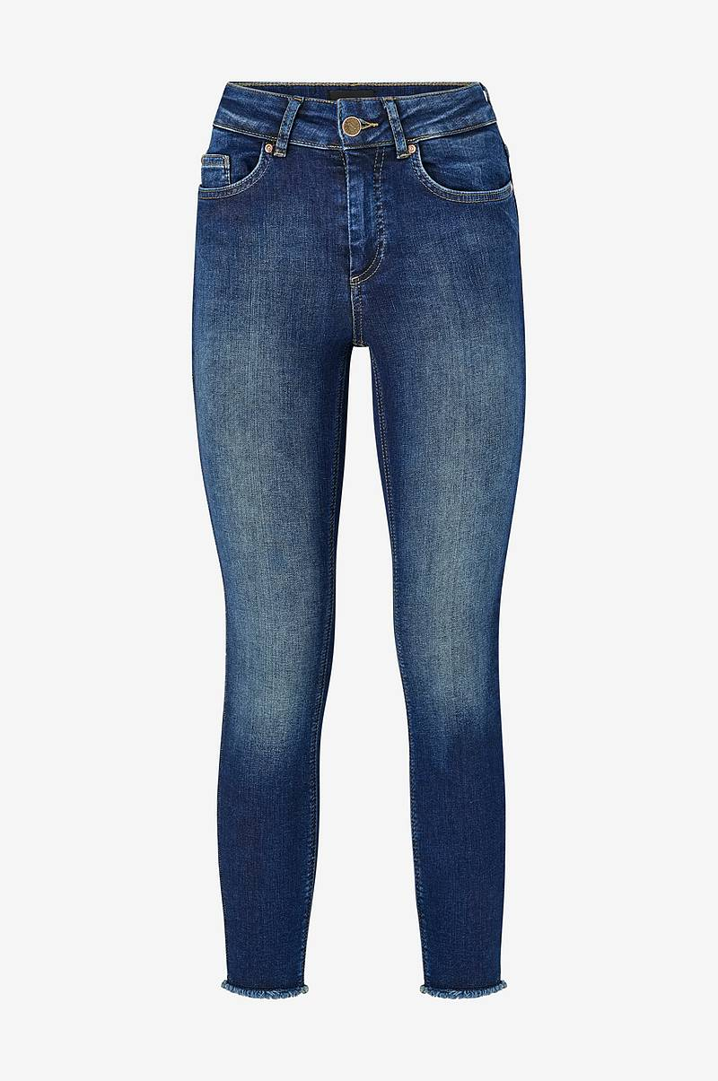 Jeans onlBlush Mid Skinny Ankle Raw