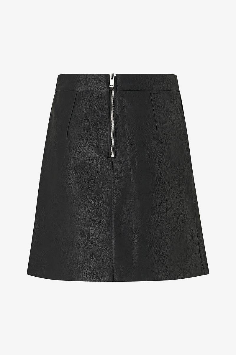 Hame onlLisa Faux Leather Short Skirt