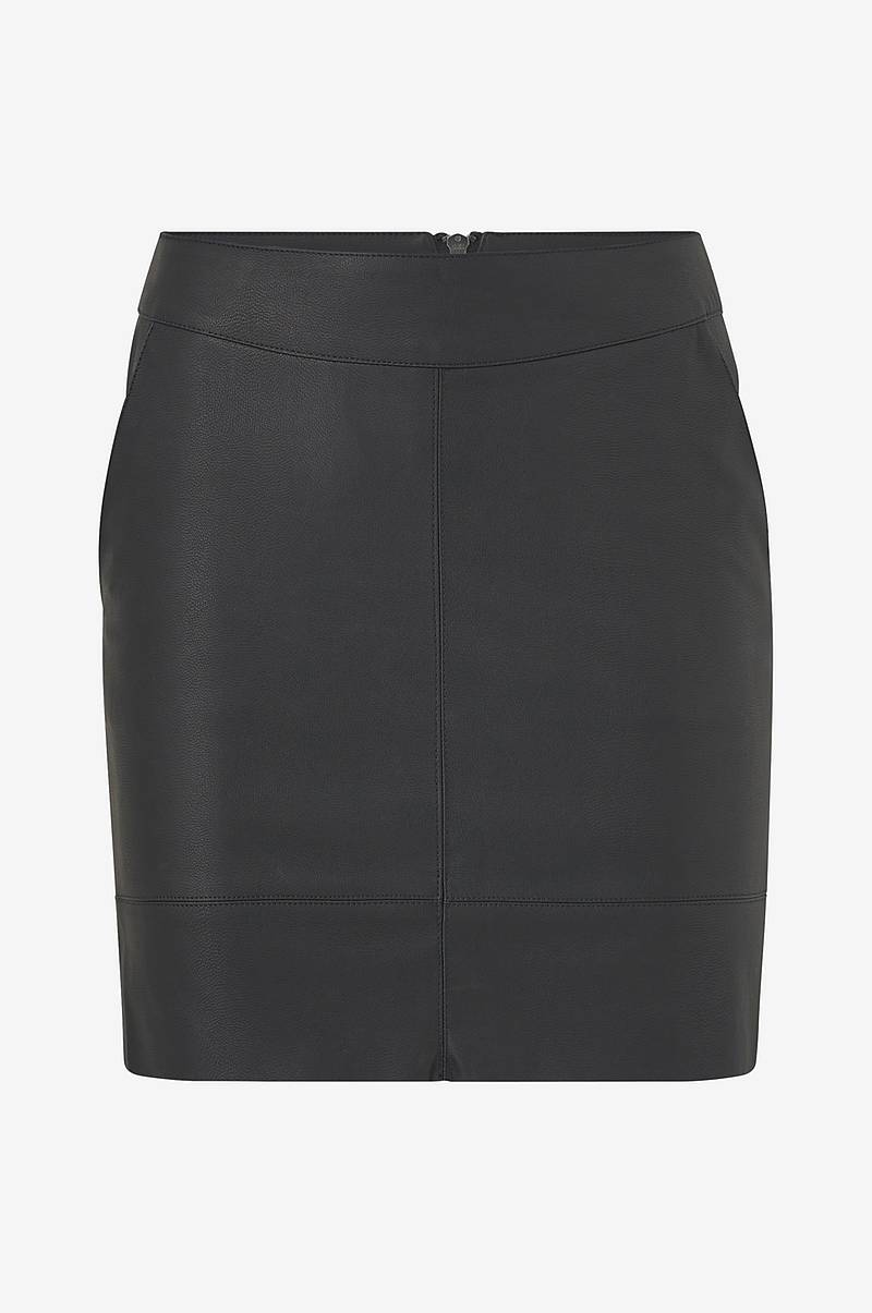 Hame onlBase Faux Leather Skirt