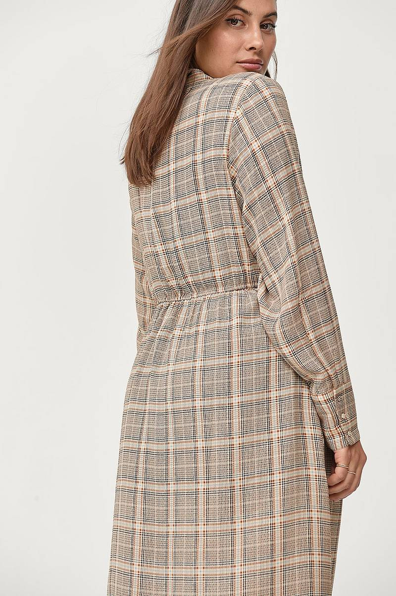 Mekko xChecki L/S Shirt Dress