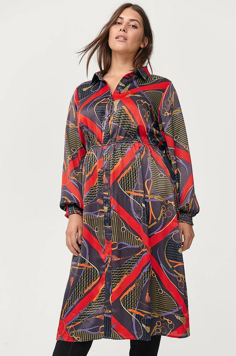 Mekko xScarf Medi Dress