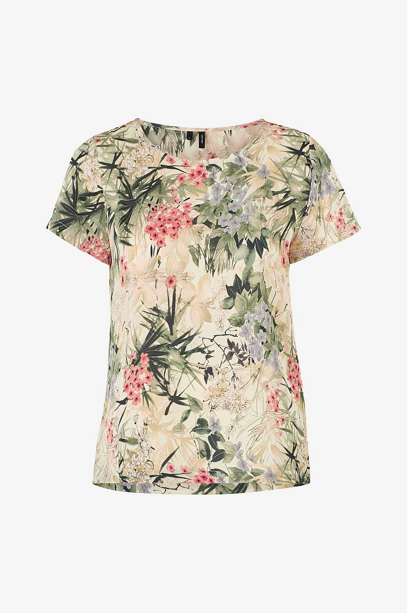 Topp vmIris Flower S/S Blouse