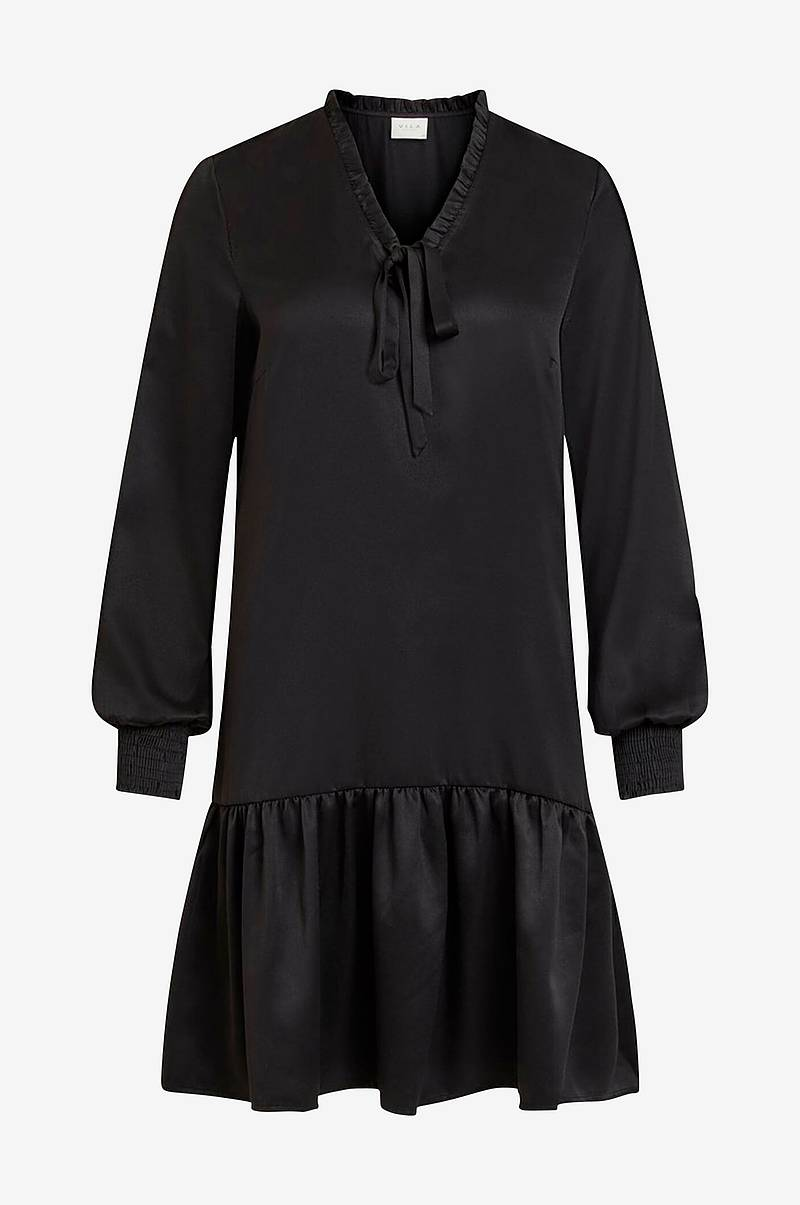 Kjole viAbota Short L/S Dress