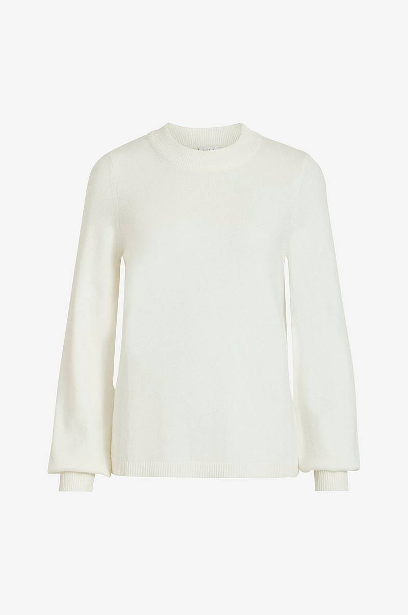 Trøje viRil L/S Balloon Knit Top
