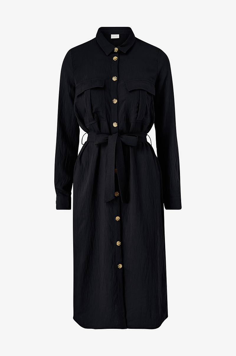 Paitamekko viSelina L/S Shirt Dress