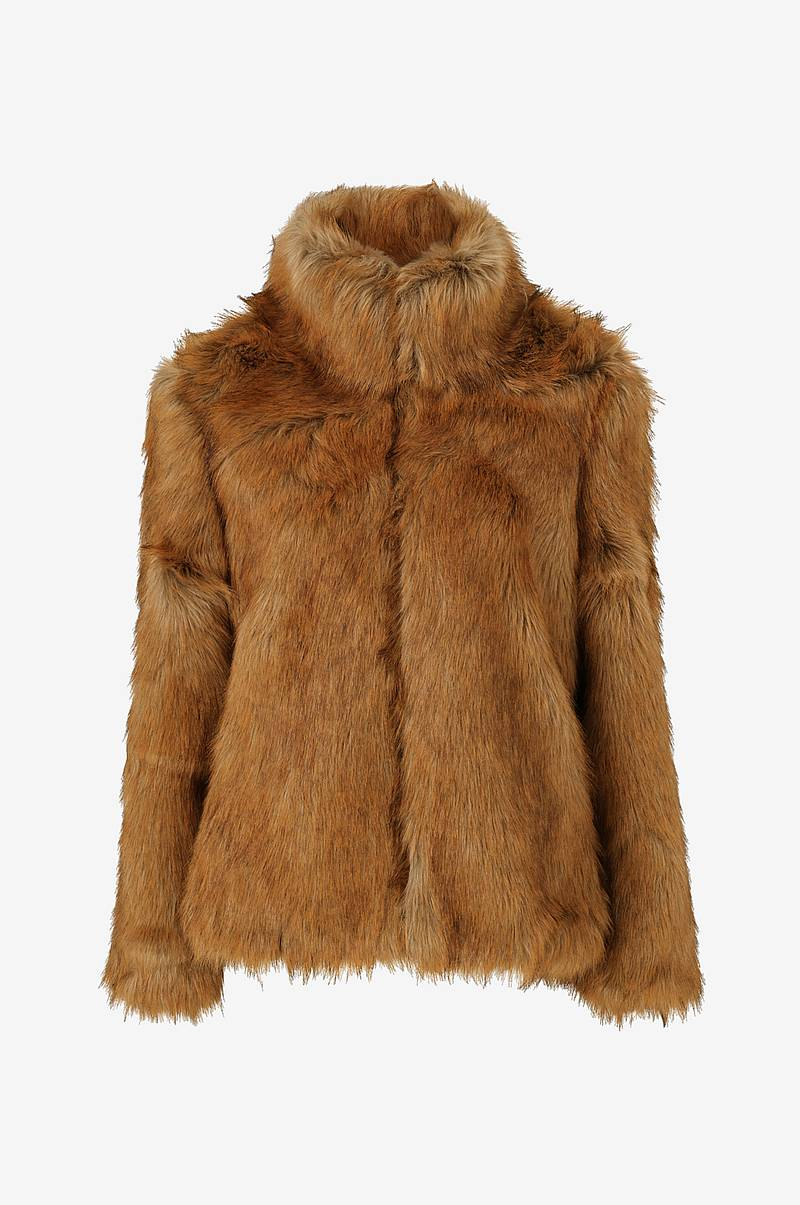Fuskpäls viPimps Faux Fur Short Jacket