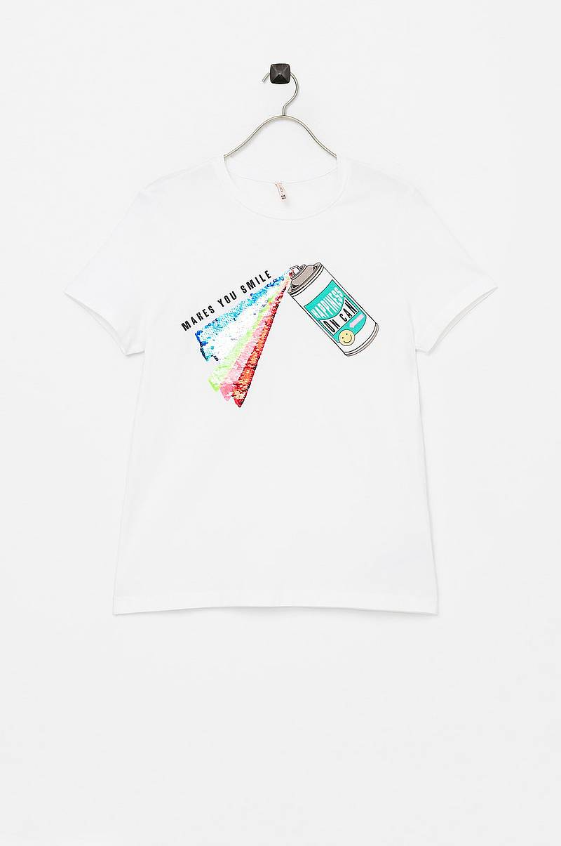 T-shirt konLizzy S/S Top Spray/smile Top