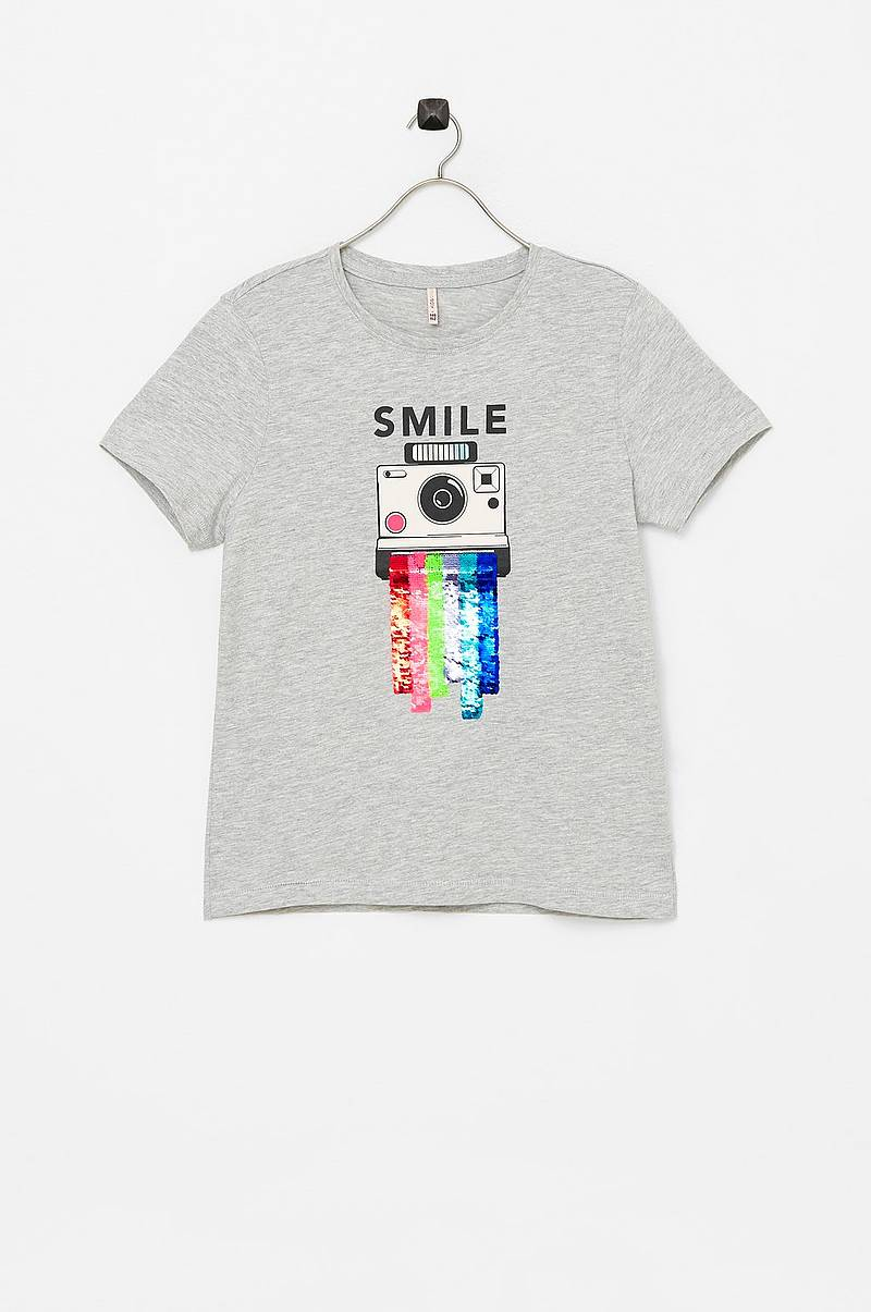T-paita konLizzy S/S Top Spray/smile Top