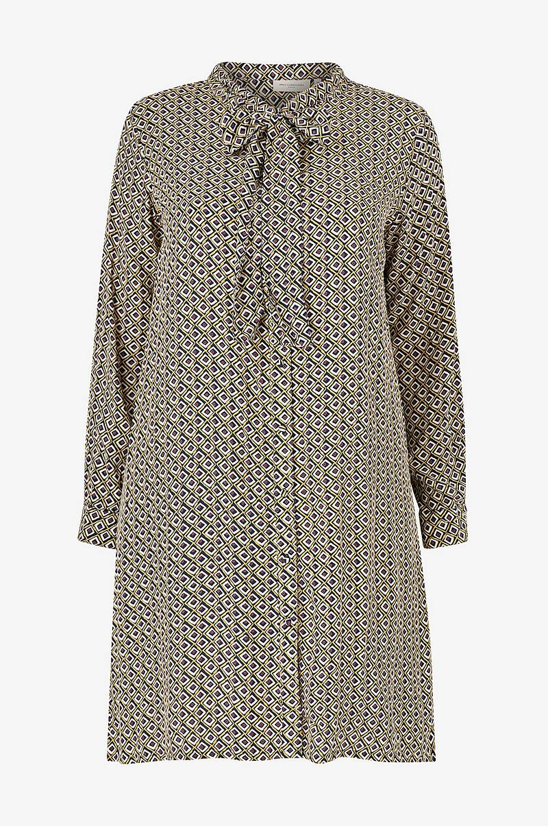Kjole carRetroreturn LS Knee Shirt Dress