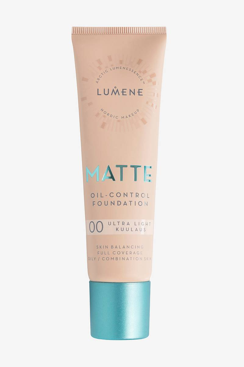Matte Oil-Control Foundation 30 ml