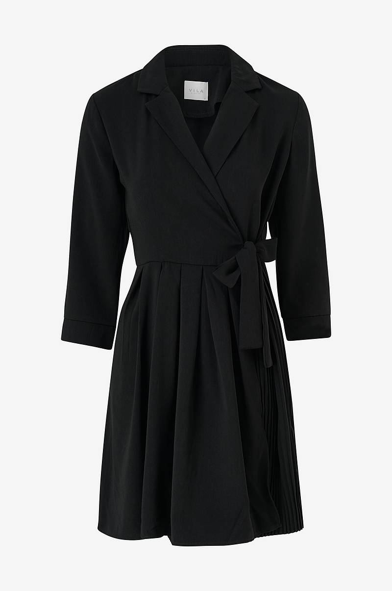 Slå om-kjole viDwell 3/4 Sleeve Dress