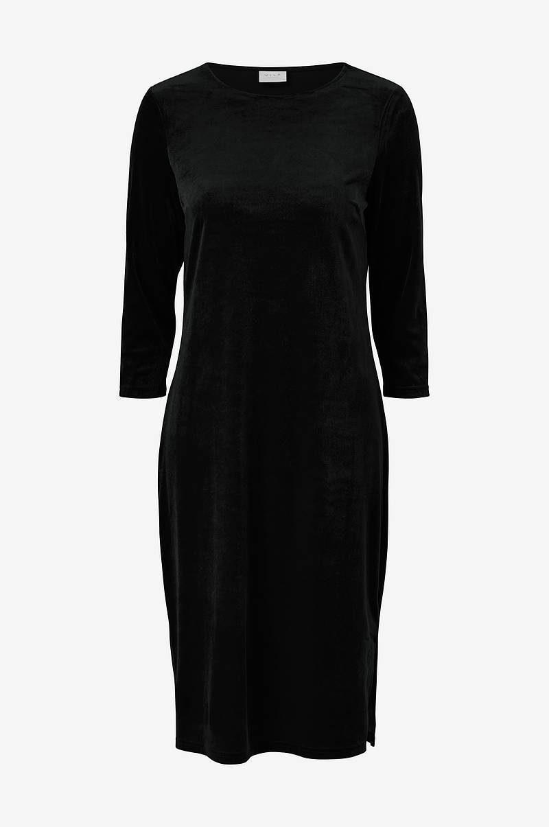 Fløyelskjole viMinny Velvet New 3/4 Sleeve Dress