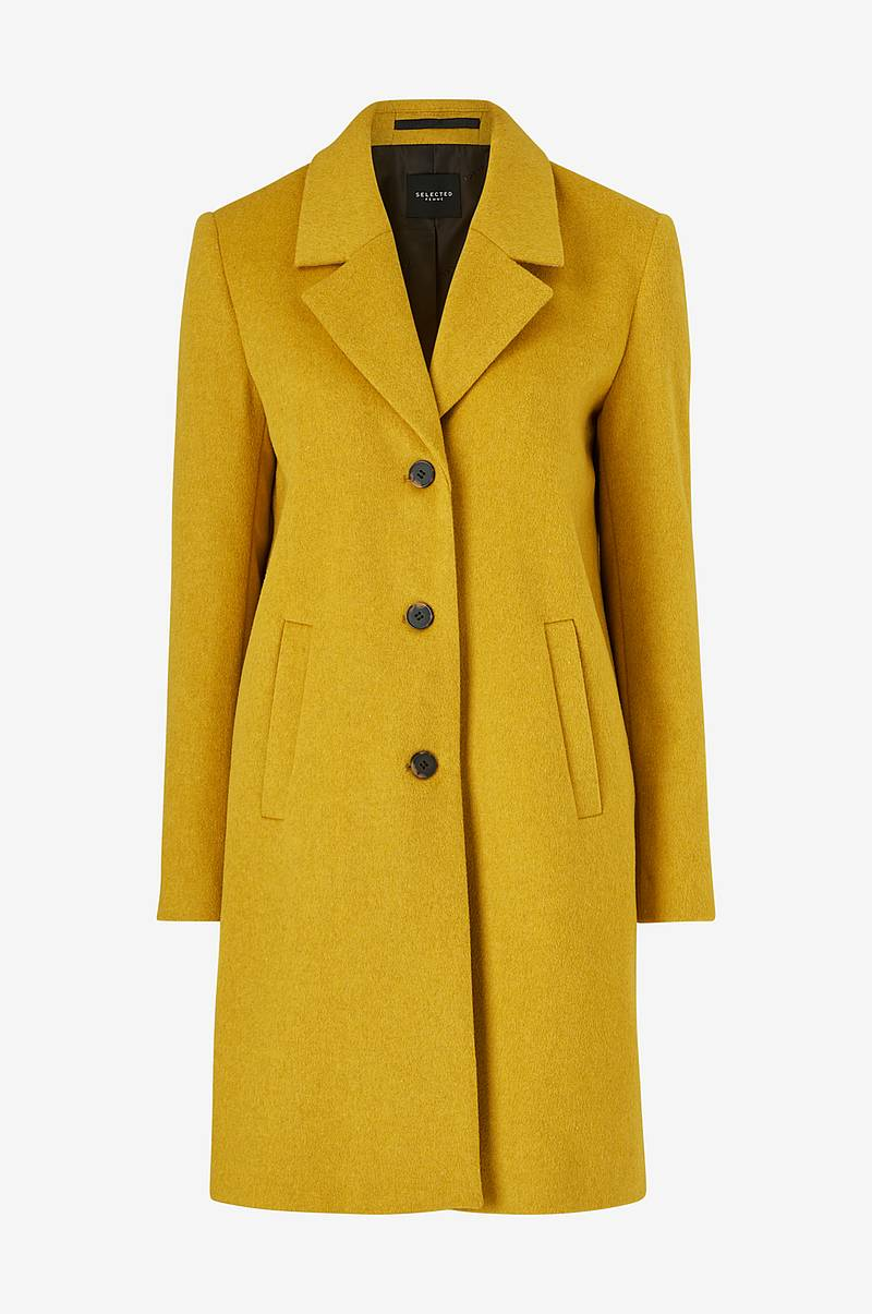 Kåpe slfSasja Wool Coat