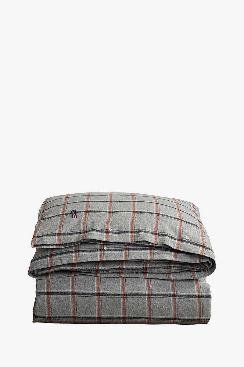 Dynebetræk Checked Flannel Duvet.