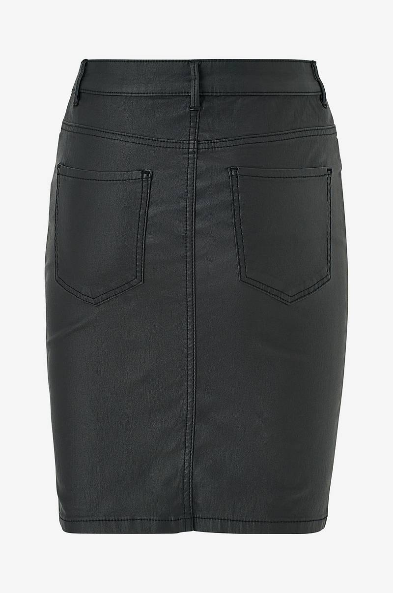 Kjol onlEmilie Rock Coated Skirt